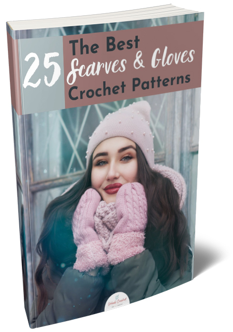 25 Scarves and Gloves Crochet Patterns
