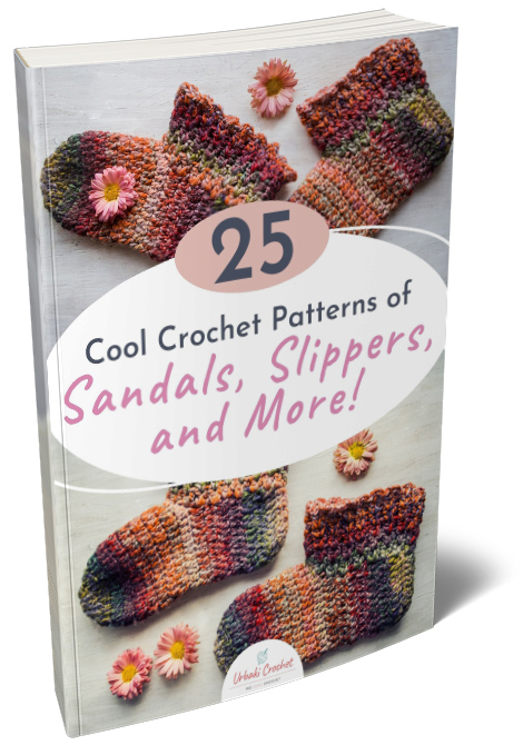 25 Cool Crochet Patterns of Sandals, Slippers and More!