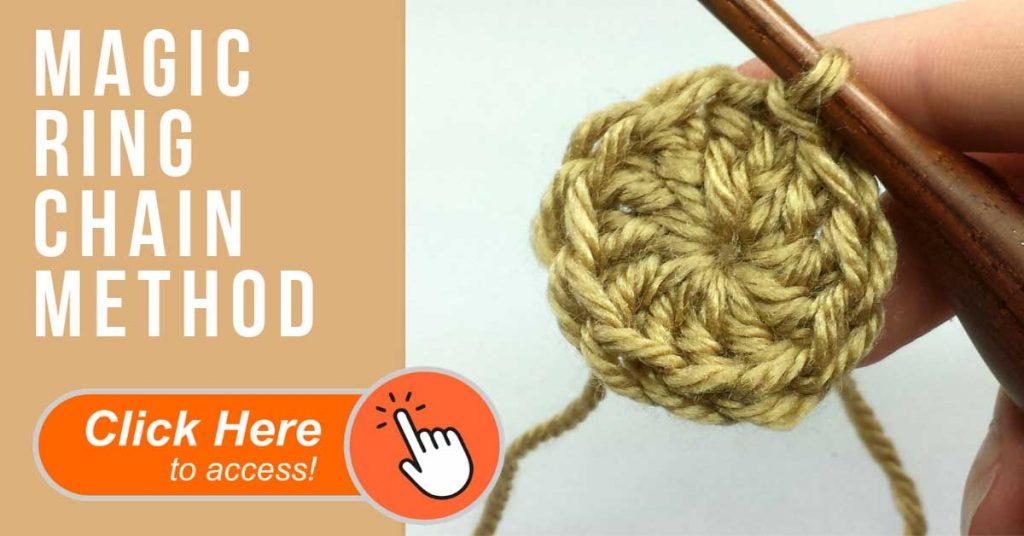 crochet magic ring
