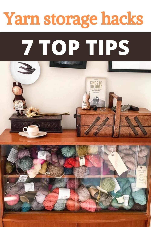 Yarn storage hacks