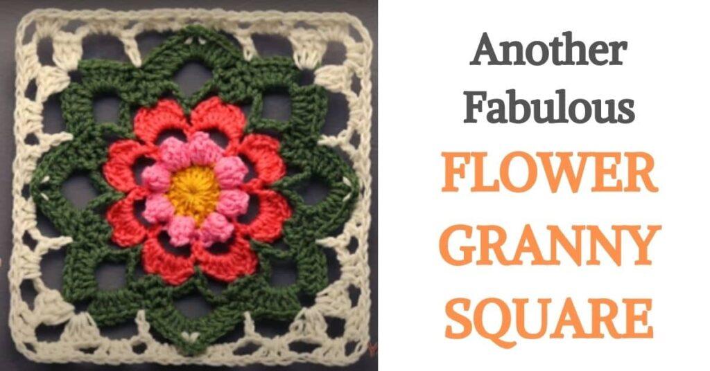 Flower Granny Square