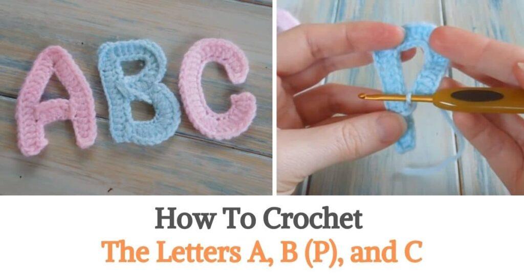 Letters Crochet