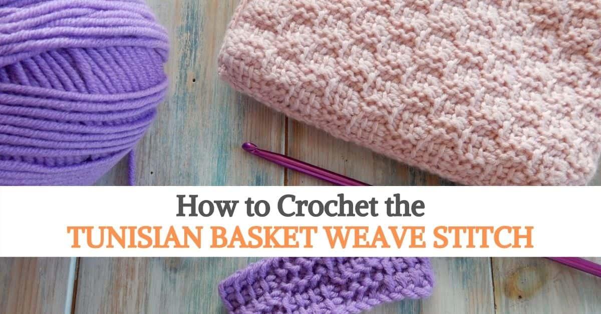 Tunisian Basket Weave Stitch