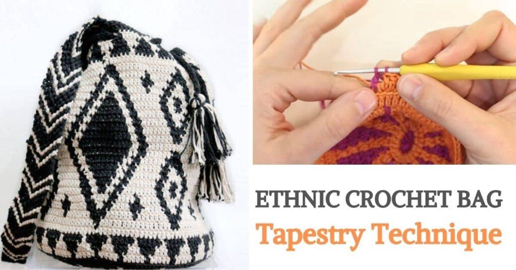 Ethnic Crochet Bag