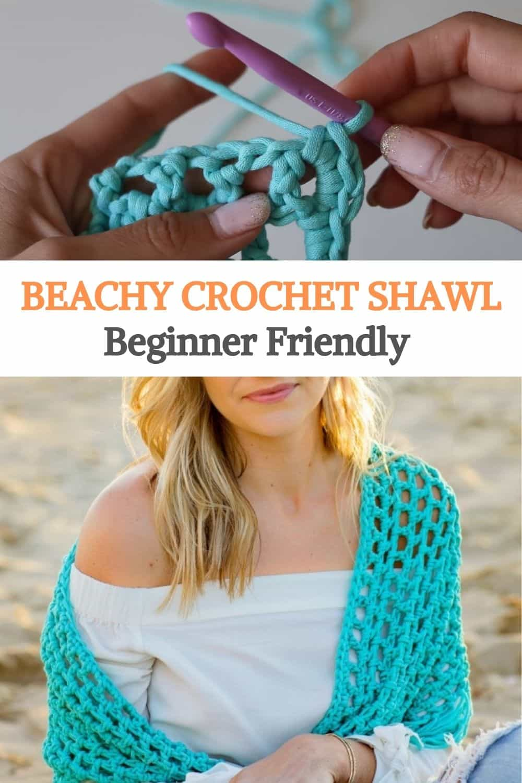 Beachy shawl