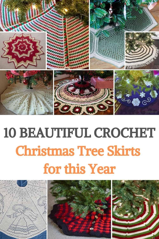 Crochet Christmas Tree Skirts