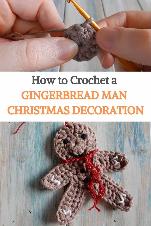 Crochet a Gingerbread Man