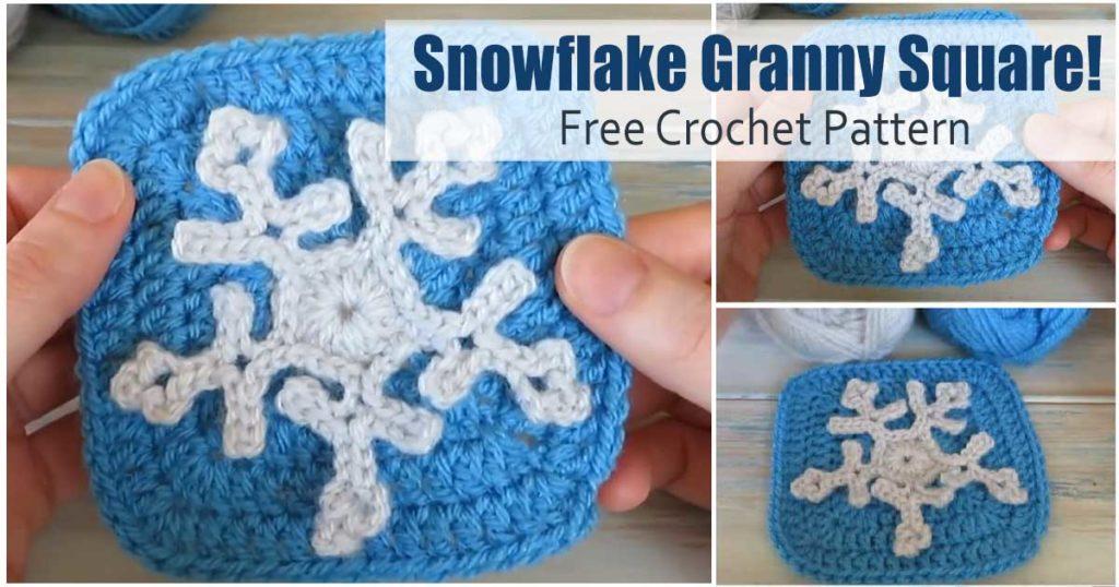 crochet snow flake