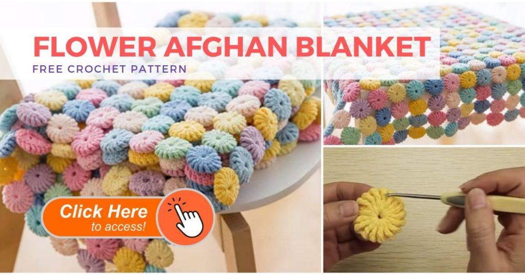 Circle Afghan Blanket