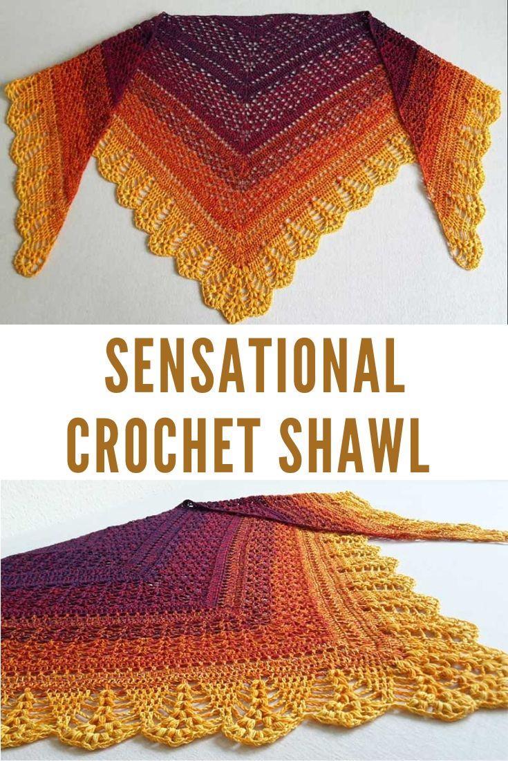 Sensational Crochet Shawl Pattern