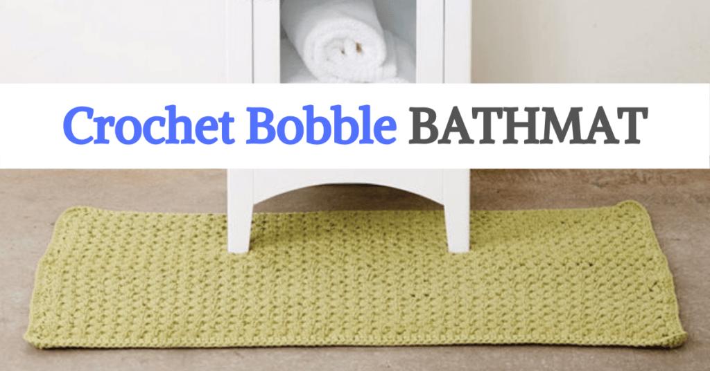 Bobble Bathmat