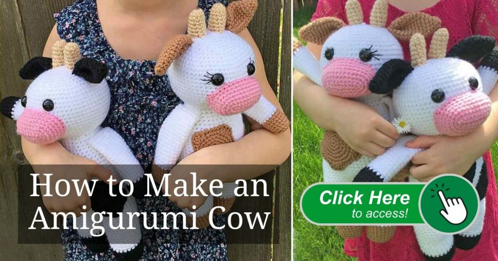 How to Make an Amigurumi Cow dest