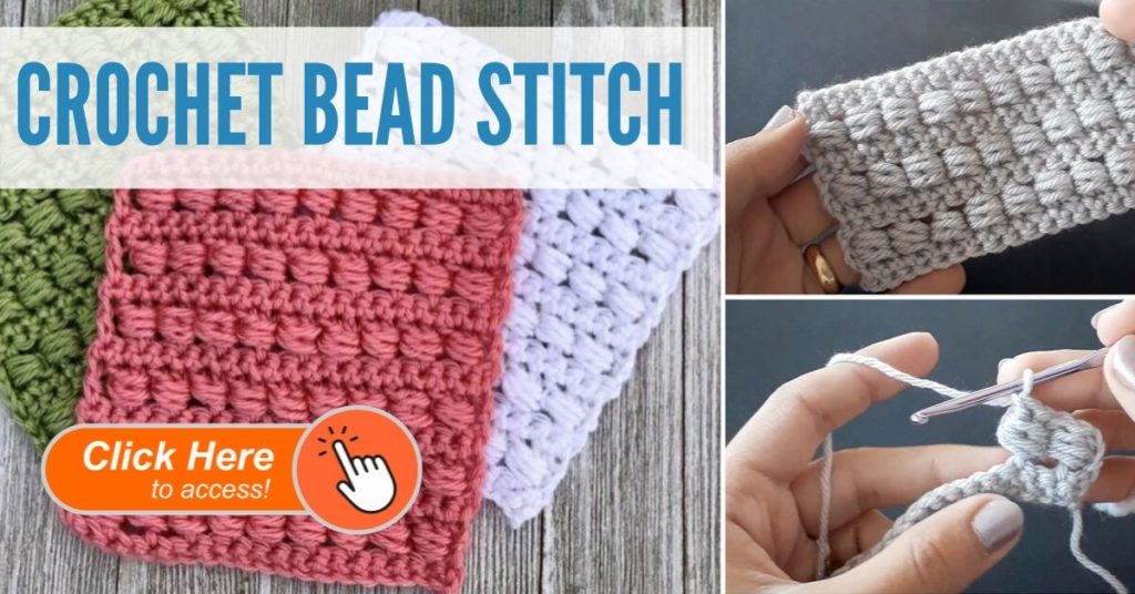 Crochet Bead Stitch
