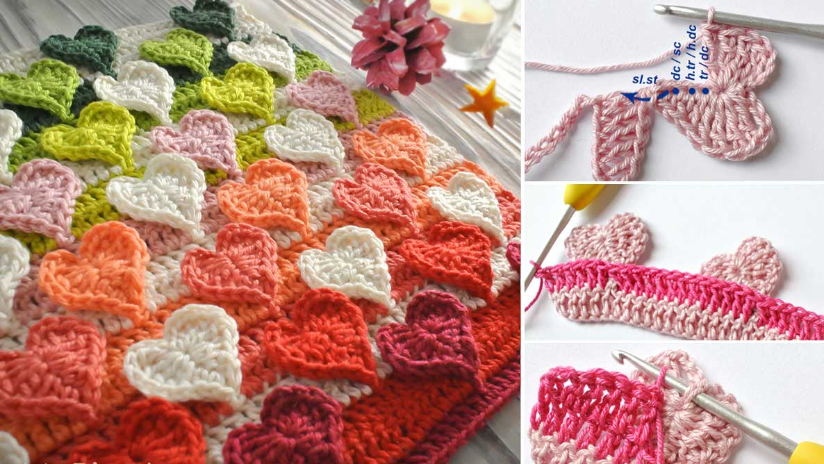 Crochet Heart Stitch