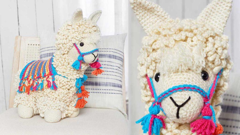 Crochet Llama No Drama