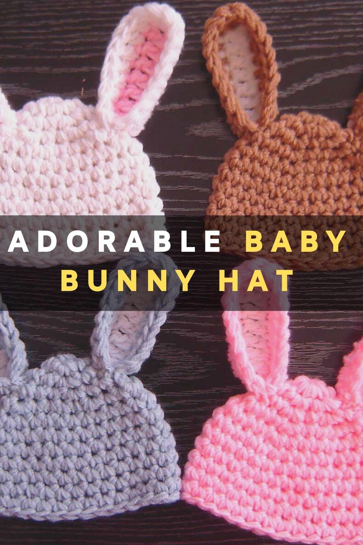 Adorable Baby Bunny Hat