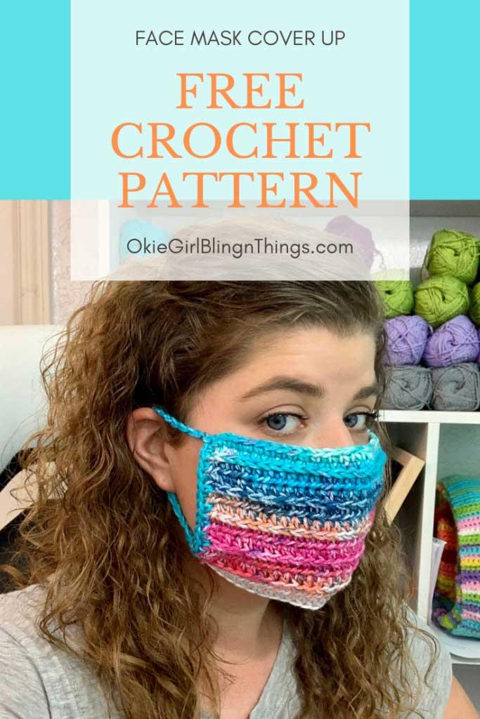 Crochet Face Mask Cover