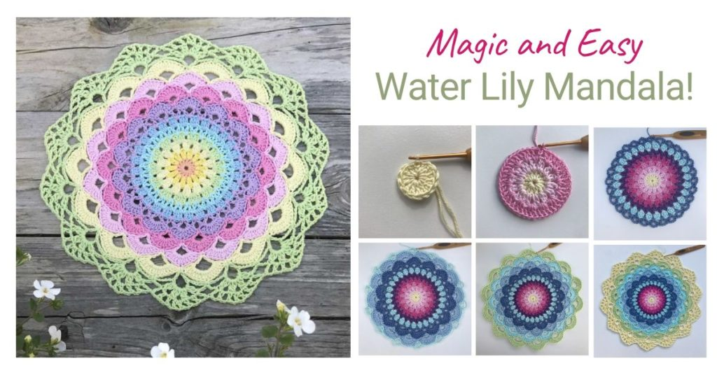 Magic and Easy Water Lily Mandala!