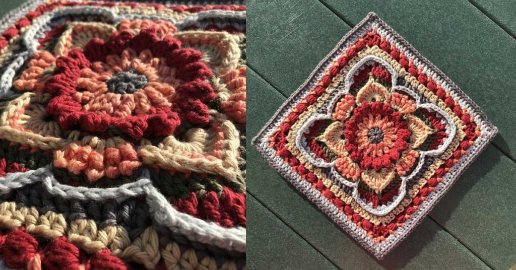 Unique Granny Square Crochet Pattern