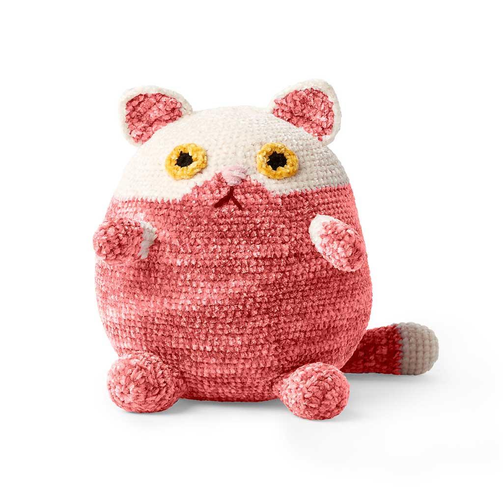 Crochet Fat Cat Stuffies Pattern