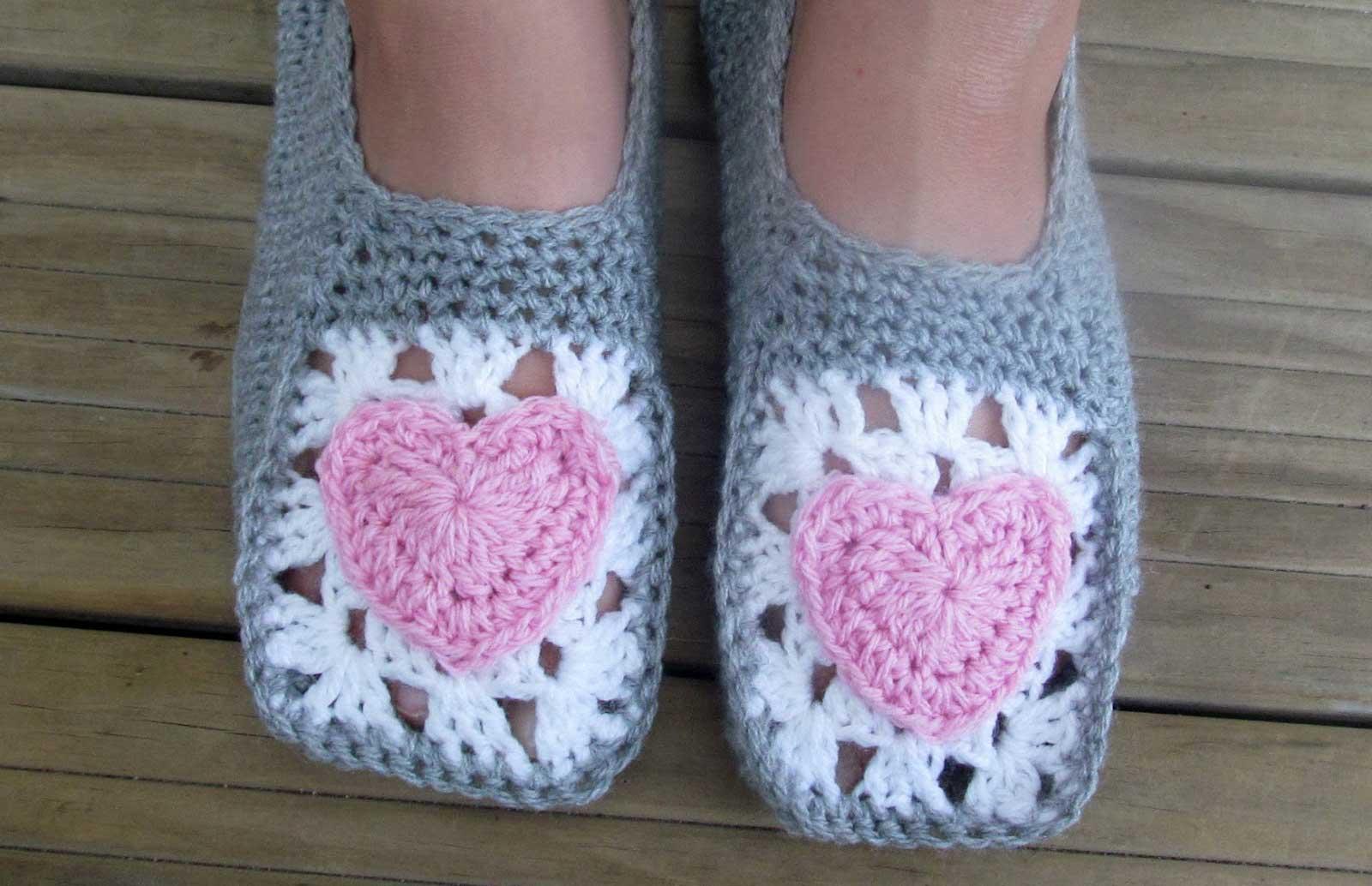Cozy Crochet Slippers