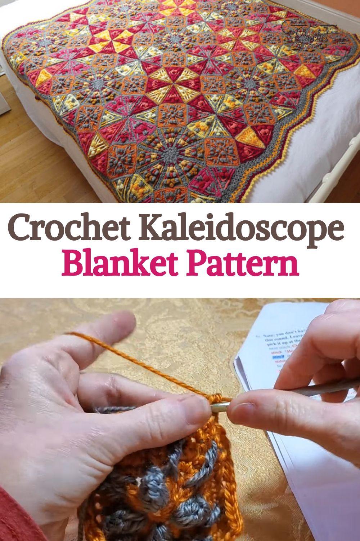 Crochet Kaleidoscope Blanket Pattern