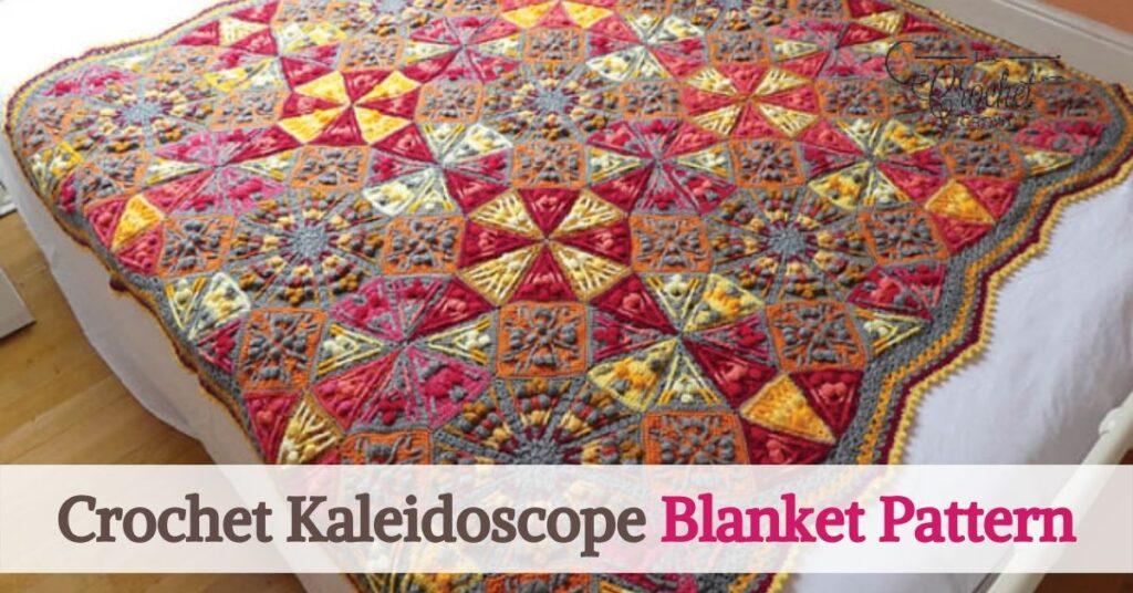 The Crochet Kaleidoscope Blanket Pattern