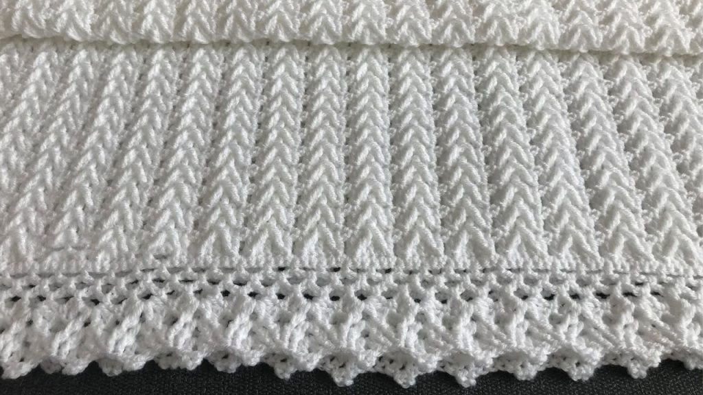 easy two row repeat crochet baby