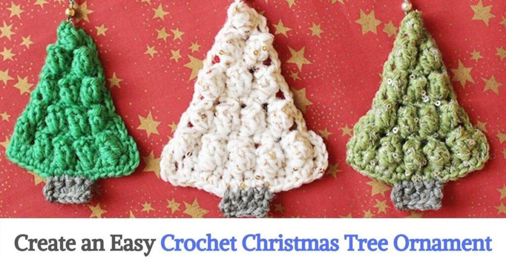 Crochet Christmas Tree Ornament