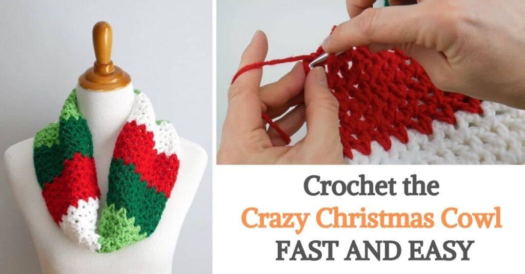 Crazy Christmas Cowl