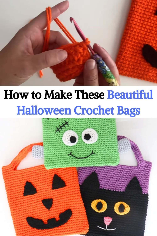 Halloween Crochet Bags