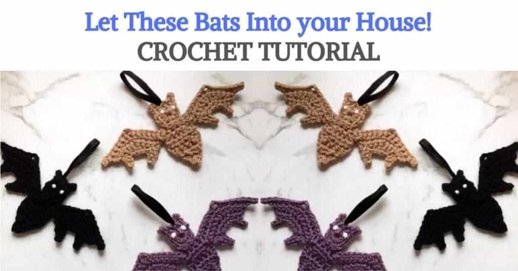 Crochet Bat Tutorial