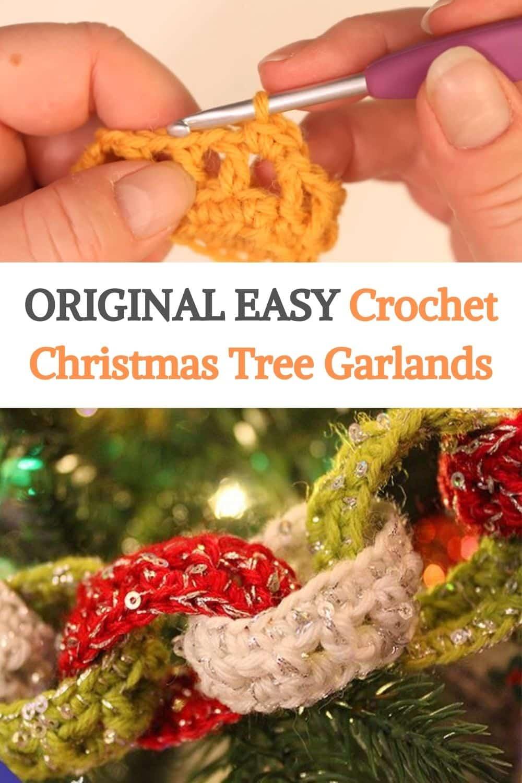 CrochetChristmas Tree Garlands