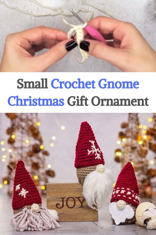Crochet Gnome Christmas