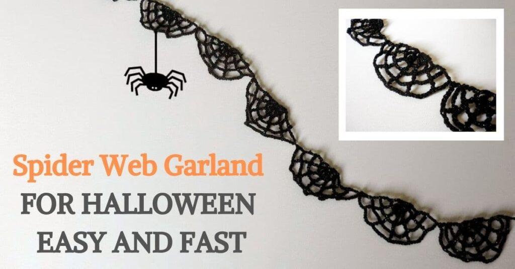 Spider Web Garland