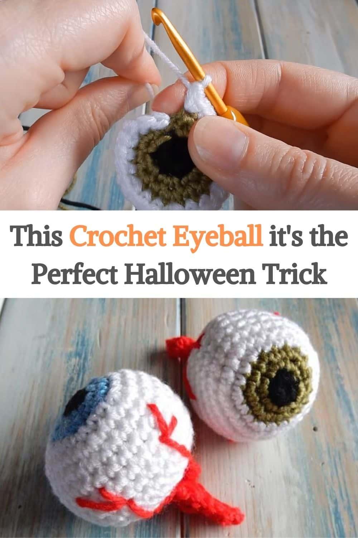 Crochet Eyeball