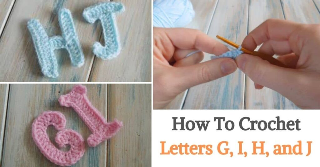 Letters G, I, H, and J