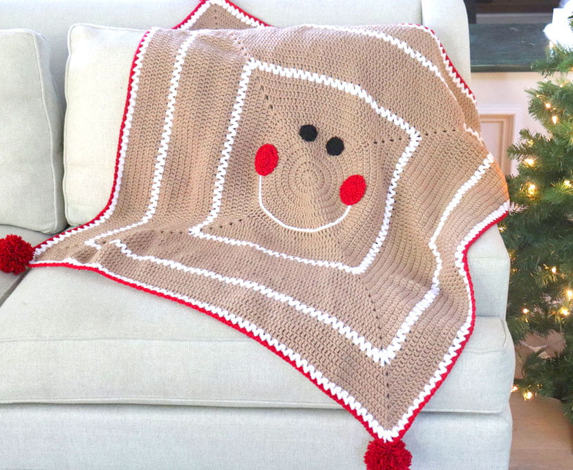 Gingerbread Blanket