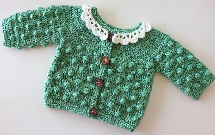 Crochet Baby Cardigan