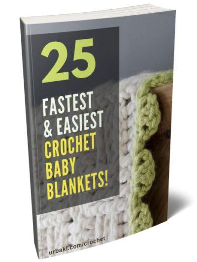 25 crochet Baby Blanket ebook