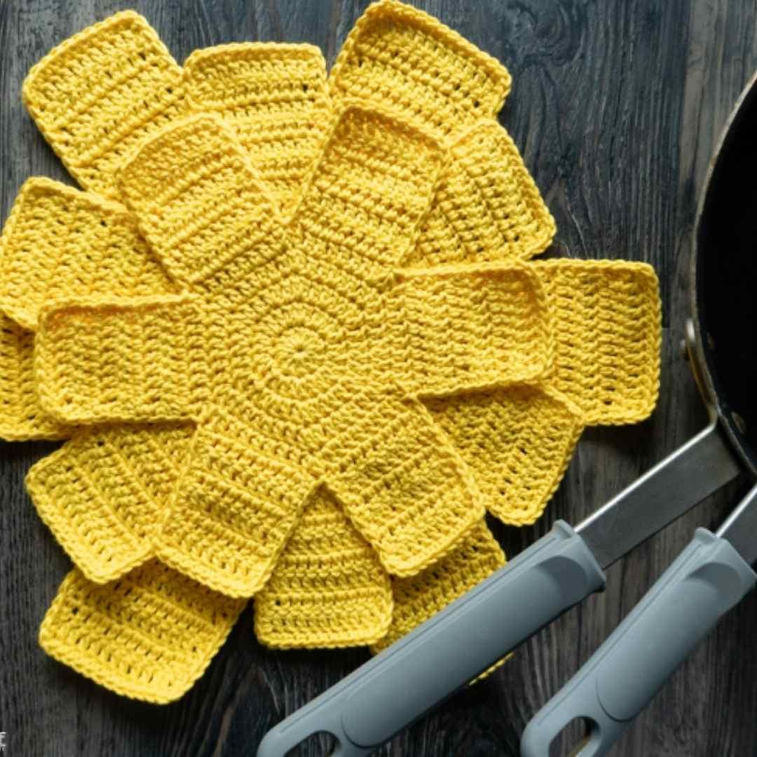 Crochet Pan Protectors
