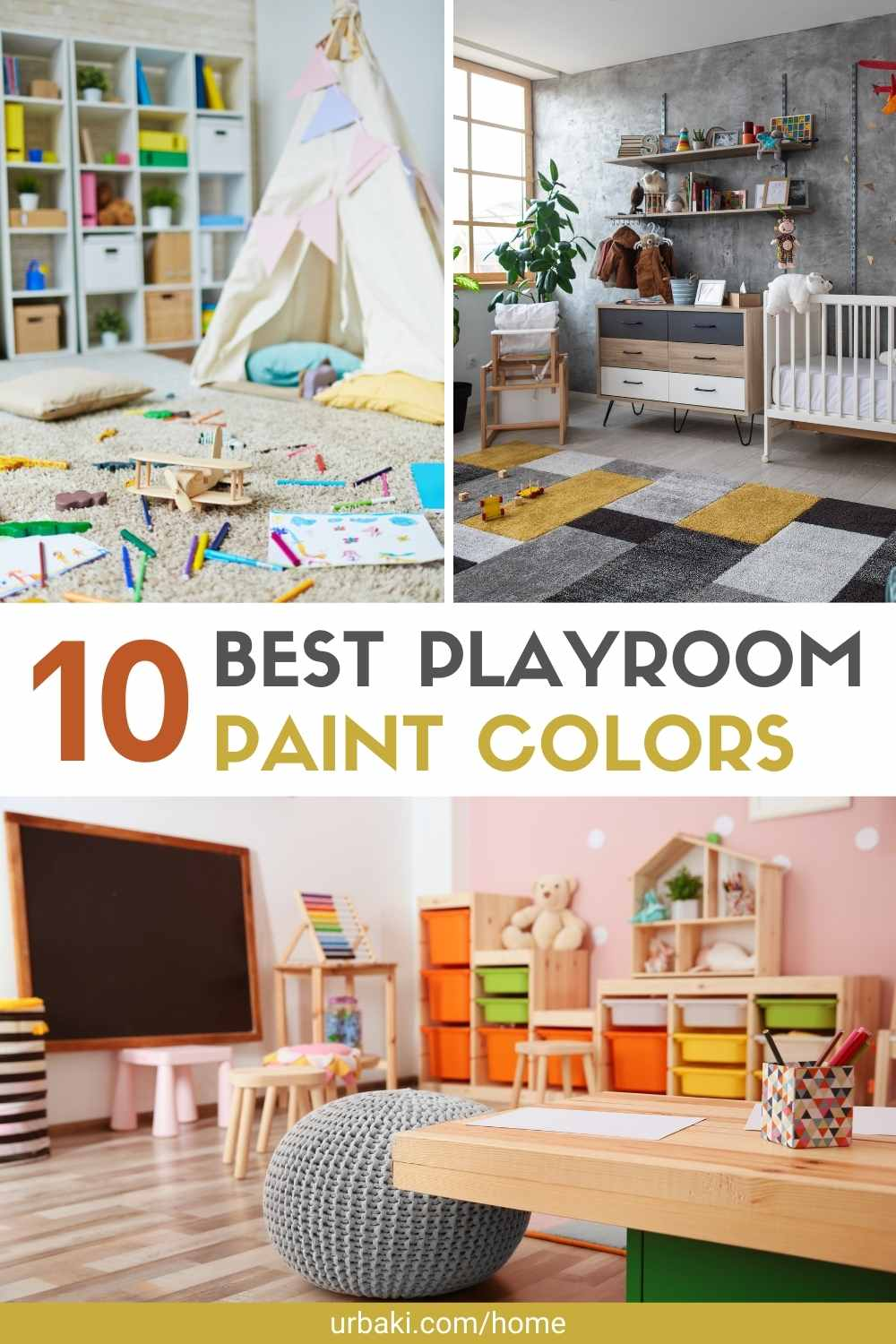 Playroom Paint Colors