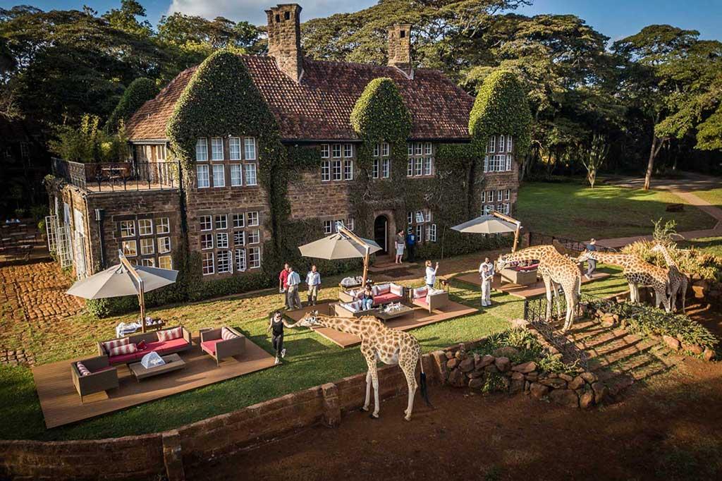 Giraffe Manor Nairobi Kenia Africa