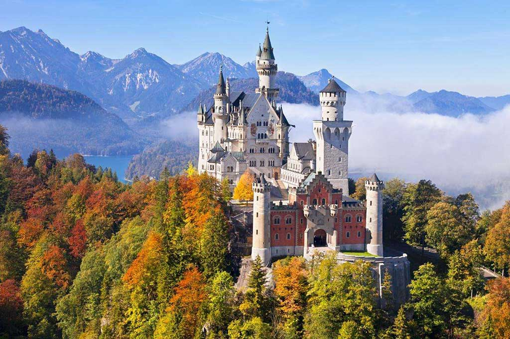 The Charming Neuschwanstein Castle in Bavaria, Germany