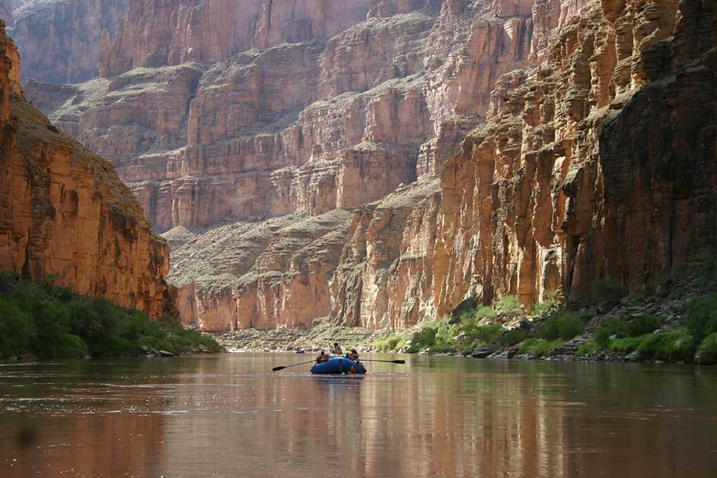 Boating in Grand Canyon