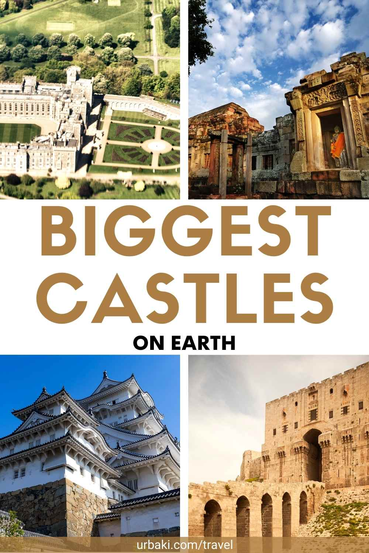 Biggest Castles on earth