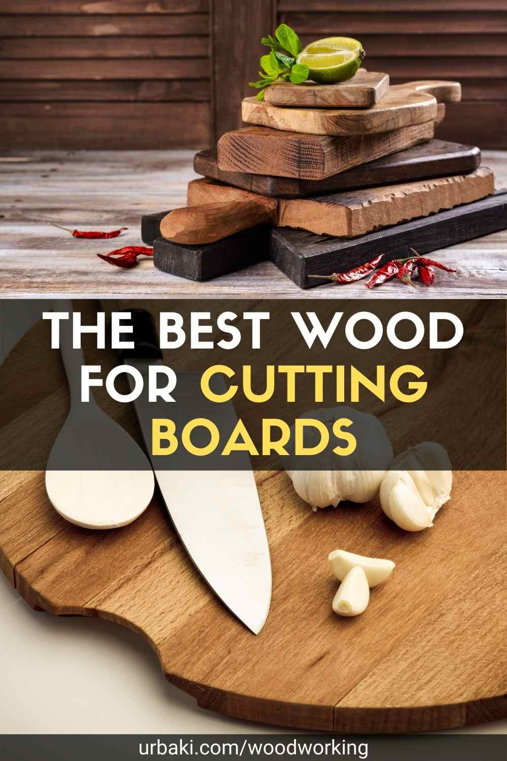 The Best Wood for Cutting Boards pin